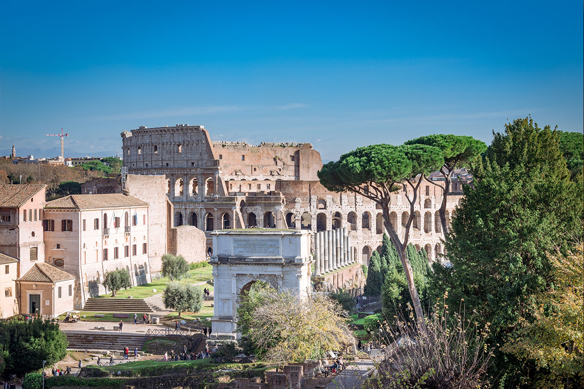 the colosseum extended