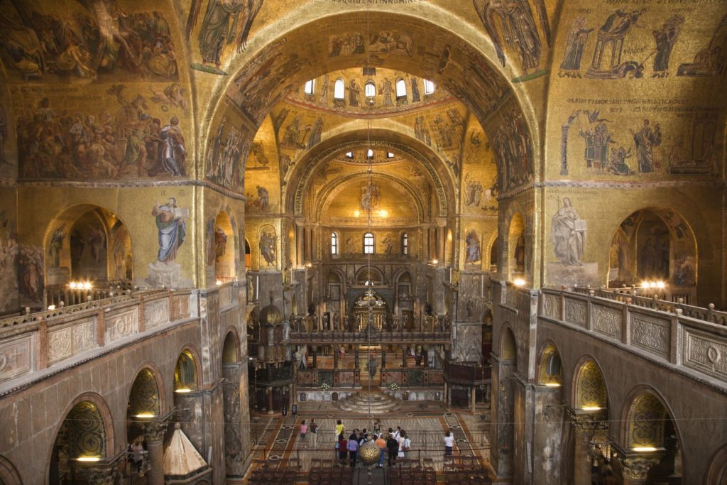 St Mark's Basilica (Venice)- Italian churches
