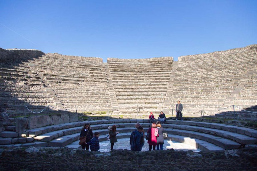Ancient theaters and baths