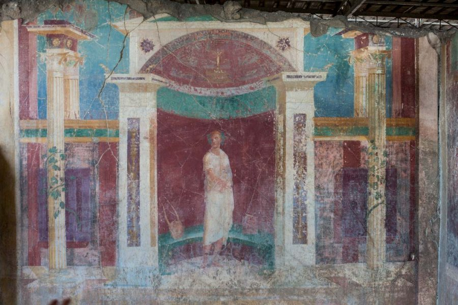 Beautiful frescoes
